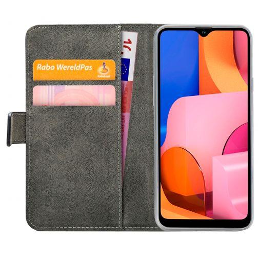 Productafbeelding van de Mobilize PU-leer Book Case Zwart Samsung Galaxy A20s