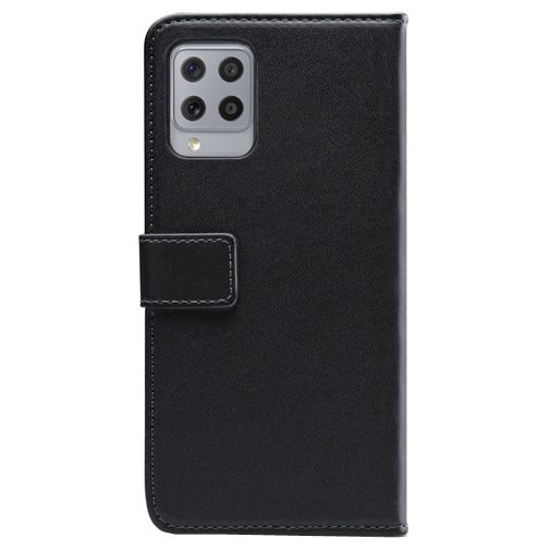 Productafbeelding van de Mobilize PU-leer Book Case Zwart Samsung Galaxy A42 5G