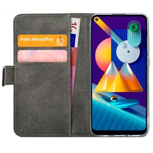 Productafbeelding van de Mobilize PU-leer Book Case Zwart Samsung Galaxy M11