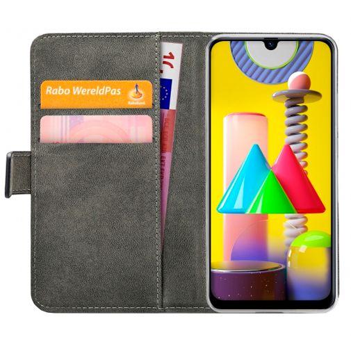 Productafbeelding van de Mobilize PU-leer Book Case Zwart Samsung Galaxy M31