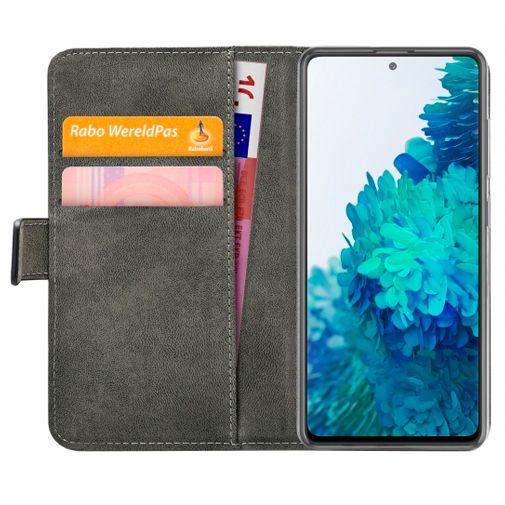 Productafbeelding van de Mobilize PU-leer Book Case Zwart Samsung Galaxy S20 FE