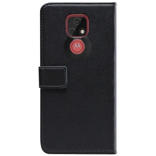 Productafbeelding van de Mobilize PU-leer Book Case Zwart Motorola Moto E7
