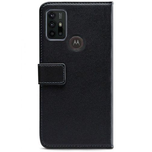 Productafbeelding van de Mobilize PU-leer Book Case Zwart Motorola Moto G30