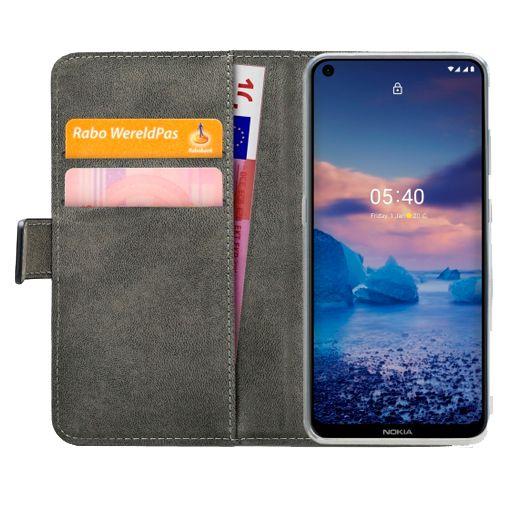 Productafbeelding van de Mobilize PU-leer Book Case Zwart Nokia 5.4