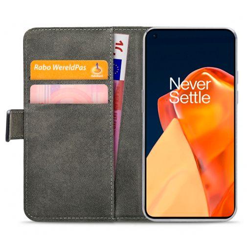 Productafbeelding van de Mobilize PU-leer Book Case Zwart OnePlus 9