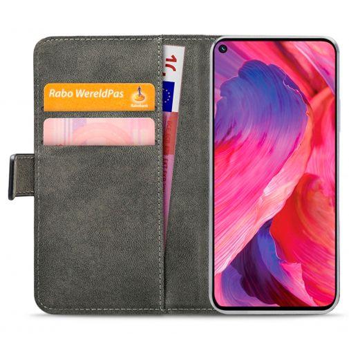 Productafbeelding van de Mobilize PU-leer Book Case Zwart Oppo A74 5G