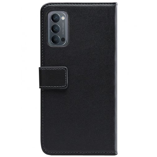 Productafbeelding van de Mobilize PU-leer Book Case Zwart Oppo Reno 4 5G