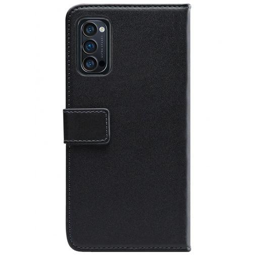 Productafbeelding van de Mobilize PU-leer Book Case Zwart Oppo Reno 4 Pro 5G