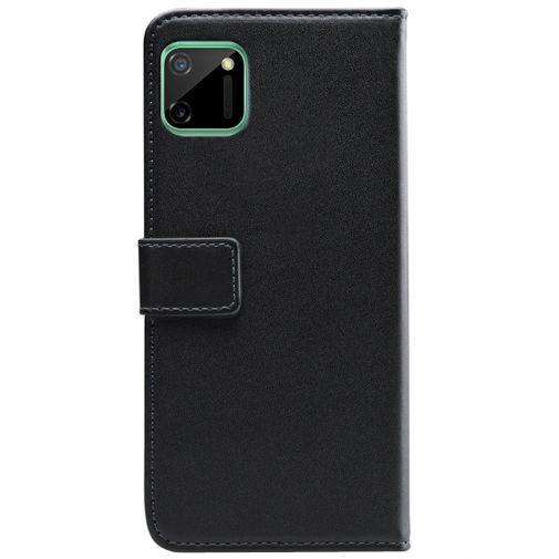 Productafbeelding van de Mobilize PU-leer Book Case Zwart Realme C11