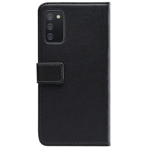 Productafbeelding van de Mobilize PU-leer Book Case Zwart Samsung Galaxy A02s