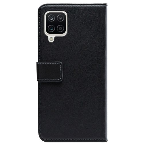Productafbeelding van de Mobilize PU-leer Book Case Zwart Samsung Galaxy A12