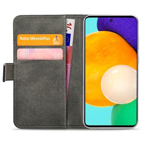 Productafbeelding van de Mobilize PU-leer Book Case Zwart Samsung Galaxy A52