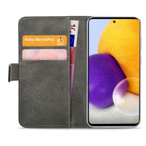 Productafbeelding van de Mobilize PU-leer Book Case Zwart Samsung Galaxy A72