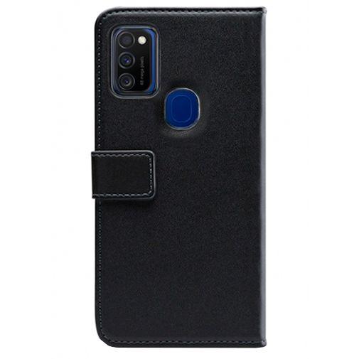 Productafbeelding van de Mobilize PU-leer Book Case Zwart Samsung Galaxy M21