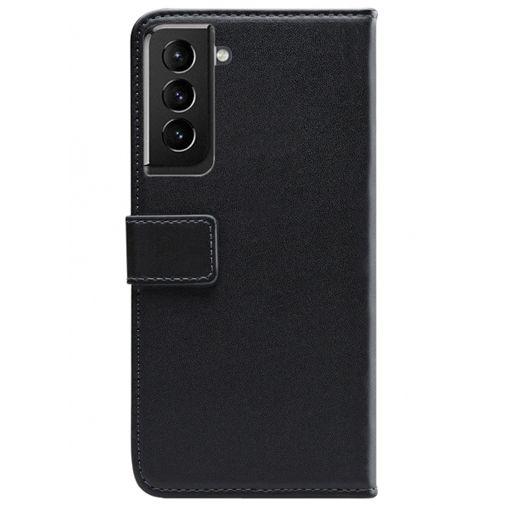 Productafbeelding van de Mobilize PU-leer Book Case Zwart Samsung Galaxy S21+
