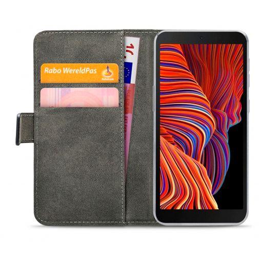 Productafbeelding van de Mobilize PU-leer Book Case Zwart Samsung Galaxy Xcover 5