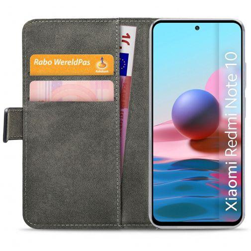 Productafbeelding van de Mobilize PU-leer Book Case Zwart Xiaomi Redmi Note 10