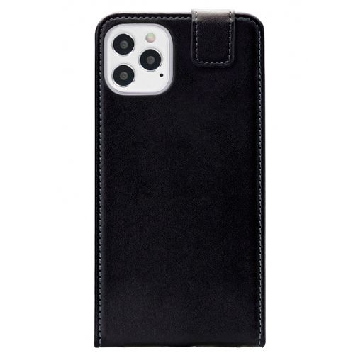Productafbeelding van de Mobilize PU-leer Flip Case Zwart Apple iPhone 12/12 Pro