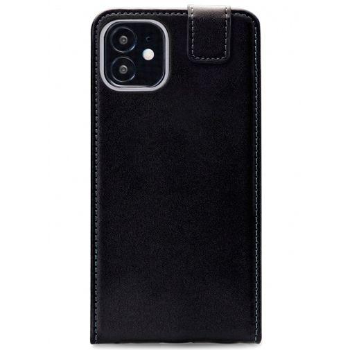 Productafbeelding van de Mobilize PU-leer Flip Case Zwart Apple iPhone 12 Mini