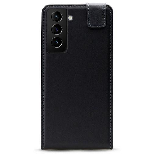 Productafbeelding van de Mobilize PU-leer Flip Case Zwart Samsung Galaxy S21+