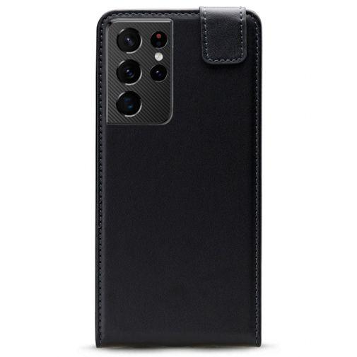 Productafbeelding van de Mobilize PU-leer Flip Case Zwart Samsung Galaxy S21 Ultra