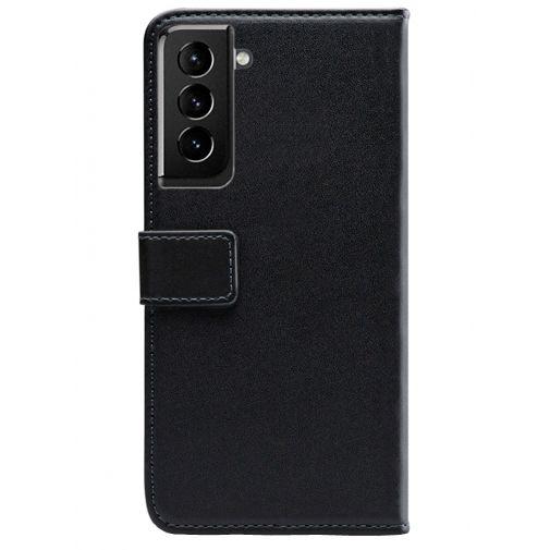 Productafbeelding van de Mobilize PU-leer Book Case Zwart Samsung Galaxy S21
