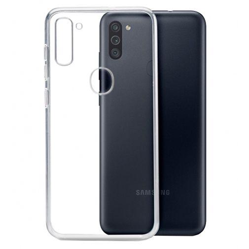 Productafbeelding van de Mobilize TPU Back Cover Samsung Galaxy M11 Transparant