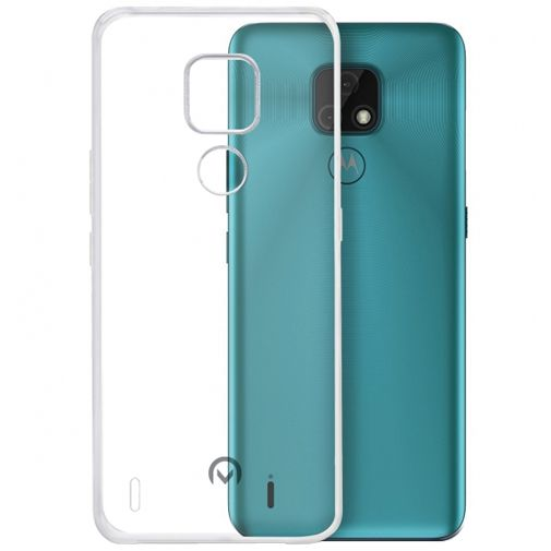 Productafbeelding van de Mobilize TPU Back Cover Transparant Motorola Moto E7