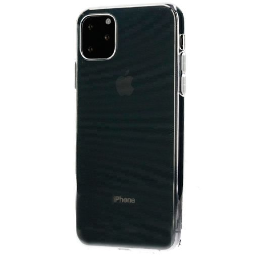 Produktimage des Mobiparts Classic TPU Case Transparent Apple iPhone 11 Pro Max