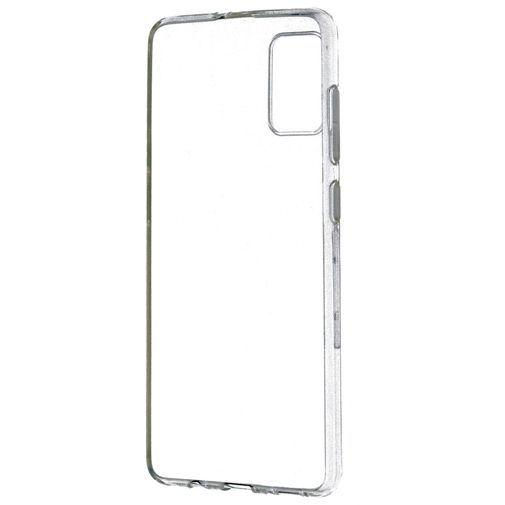 Productafbeelding van de Mobiparts Classic TPU Case Transparent Samsung Galaxy A71