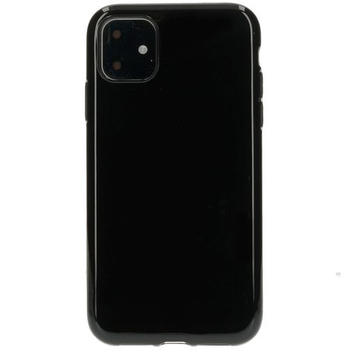 Productafbeelding van de Mobiparts Classic TPU Case Black Apple iPhone 11