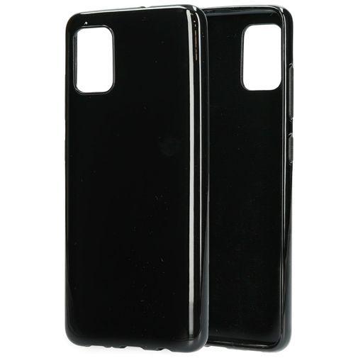 Produktimage des Mobiparts Classic TPU Case Schwarz Samsung Galaxy A51 4G
