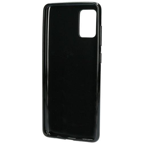 Productafbeelding van de Mobiparts Classic TPU Case Black Samsung Galaxy A71