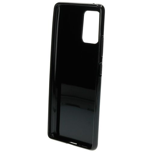 Produktimage des Mobiparts Classic TPU Case Schwarz Samsung Galaxy S10 Lite