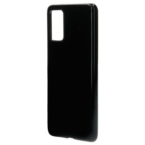 Productafbeelding van de Mobiparts Classic TPU Case Black Samsung Galaxy S20+