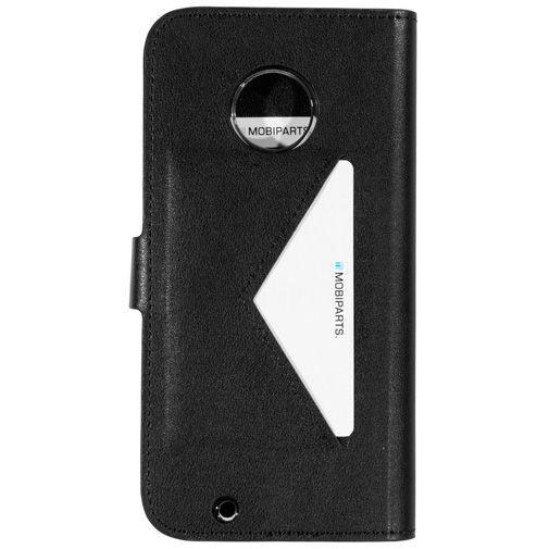 Produktimage des Mobiparts Classic Wallet Case Schwarz Motorola Moto G6