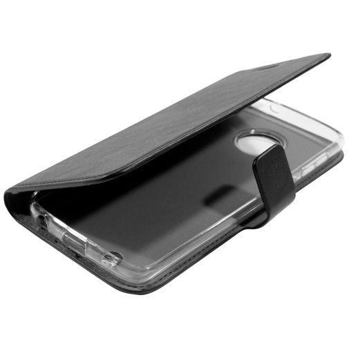 Productafbeelding van de Mobiparts Classic Wallet Case Black Motorola Moto G6