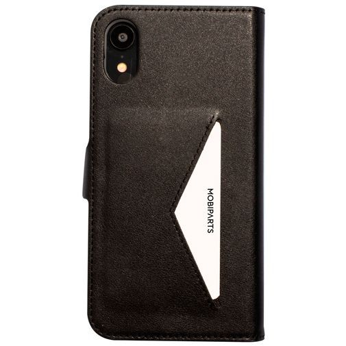 Produktimage des Mobiparts Classic Wallet Case Schwarz Apple iPhone XR