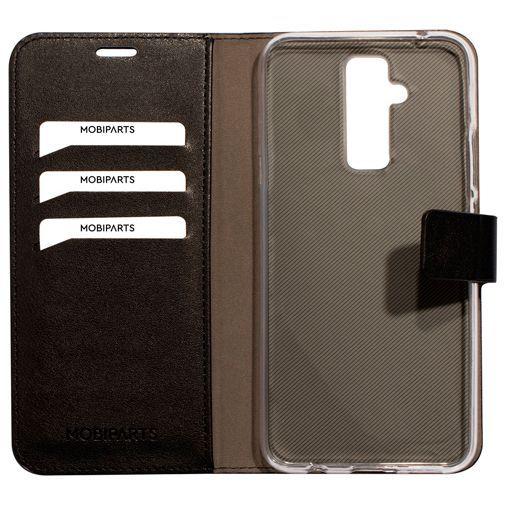 Productafbeelding van de Mobiparts Classic Wallet Case Black Huawei Mate 20 Lite