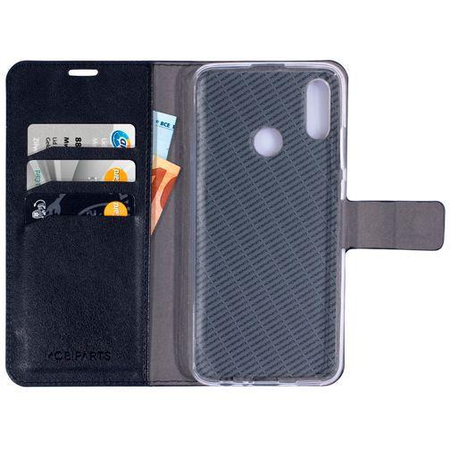 Productafbeelding van de Mobiparts Classic Wallet Case Black Huawei P Smart (2019)
