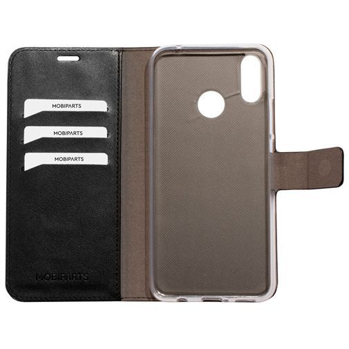 Productafbeelding van de Mobiparts Classic Wallet Case Black Huawei P Smart+/Huawei Nova 3i