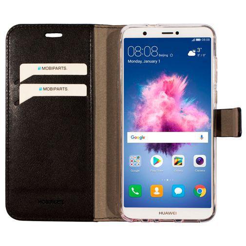 Productafbeelding van de Mobiparts Classic Wallet Case Black Huawei P Smart