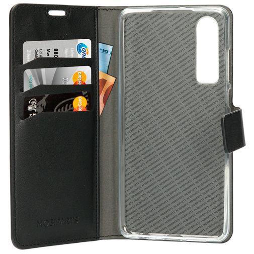 Produktimage des Mobiparts Classic Wallet Case Schwarz Huawei P30