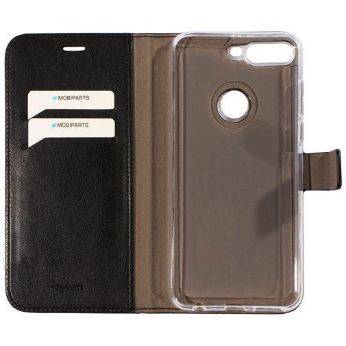 Produktimage des Mobiparts Classic Wallet Case Schwarz Huawei Y7 (2018)
