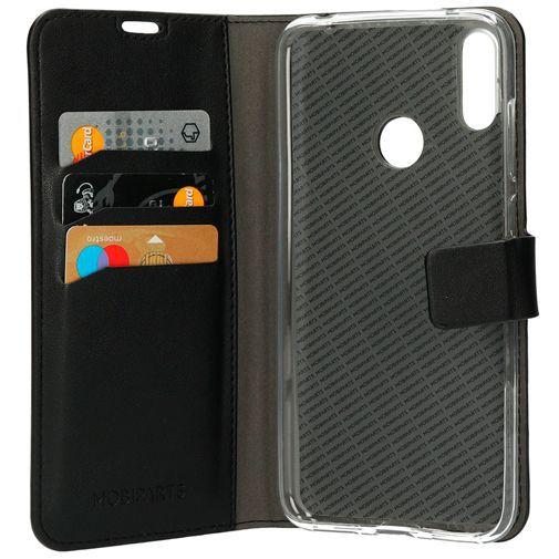 Productafbeelding van de Mobiparts Classic Wallet Case Black Huawei Y7 (2019)