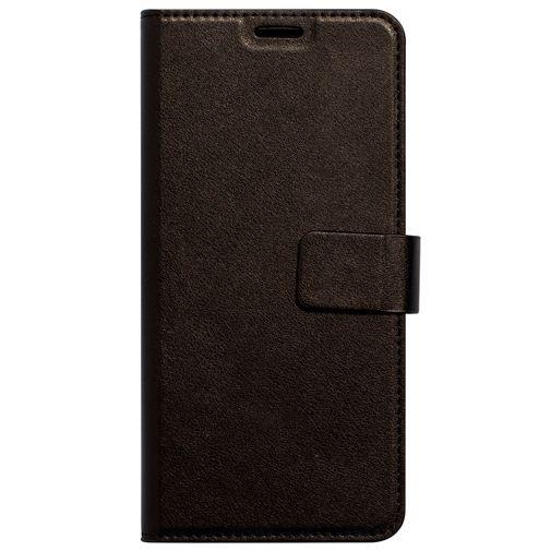 Productafbeelding van de Mobiparts Classic Wallet Case Black LG V40 ThinQ