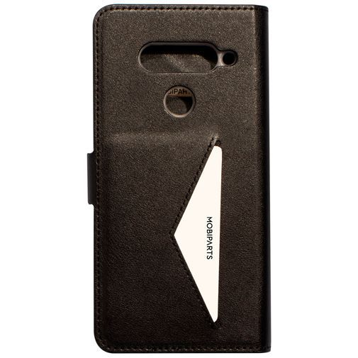 Produktimage des Mobiparts Classic Wallet Case Schwarz LG V40 ThinQ