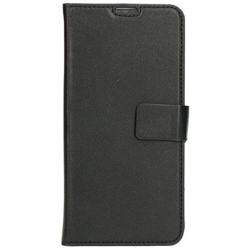 Productafbeelding van de Mobiparts Classic Wallet Case Black Motorola Moto G7/G7 Plus