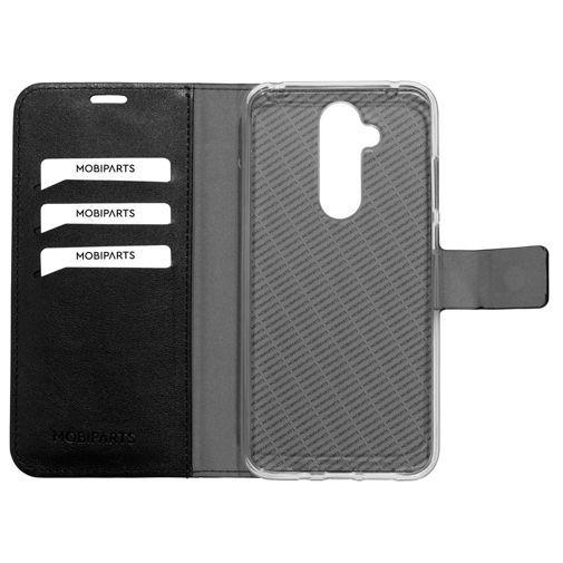 Productafbeelding van de Mobiparts Classic Wallet Case Black Nokia 8.1