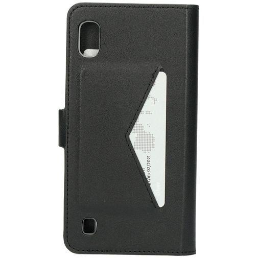 Produktimage des Mobiparts Classic Wallet Case Schwarz Samsung Galaxy A10